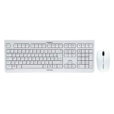 Cherry  DW 3000 Maus-Tastaturkombination USB kabellos DE Layout weiß