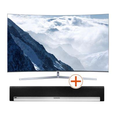 4K UE55KS9090 138cm 55´´ UHD Curved Fernseher + Sonos PLAYBAR