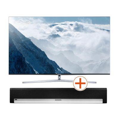 4K UE55KS8090 138cm 55´´ UHD Flat Fernseher + Sonos PLAYBAR