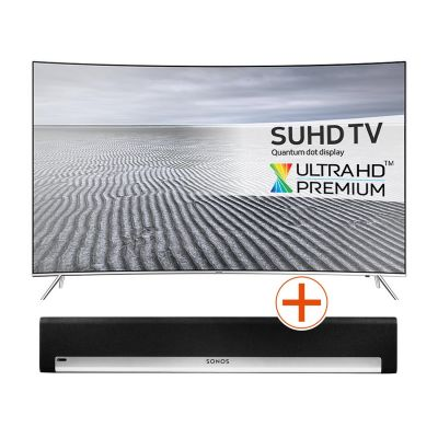 4K UE55KS7090 138cm 55´´ UHD Flat Fernseher + Sonos PLAYBAR