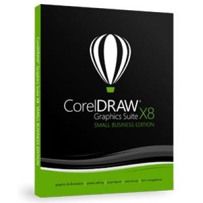 CorelDRAW Graphics Suite X8 DE - Small Business...