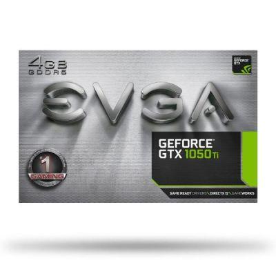 Evga EVGA GeForce GTX 1050 Ti Gaming ACX 2.0 4GB