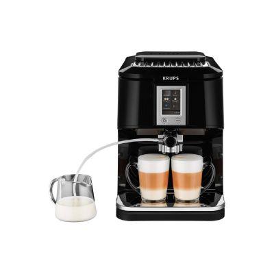 Krups EA 8808 One-Touch-Kaffeevollautomat Espresso Master Edelstahl/Schwarz