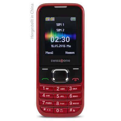 swisstone SC 230 Dual-SIM rot GSM Mobiltelefon - Preisvergleich