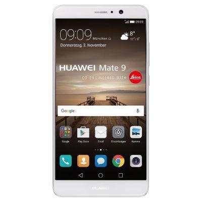 HUAWEI Mate 9 Dual-SIM silver Android 7.0 Smartphone mit Leica Dual-Kamera - Preisvergleich