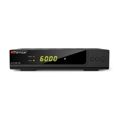 Opticum HD AX C100 HD Digital Kabelreceiver Full HD S-PDIF/Scart/HDMI/USB PVR - Preisvergleich