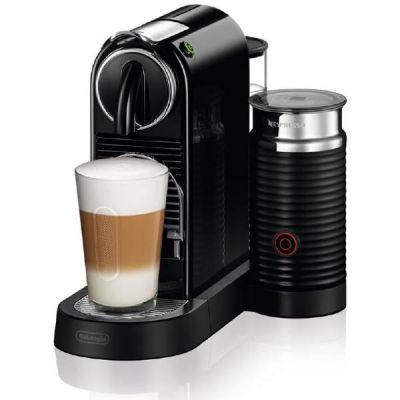 DeLonghi EN 267.BAE Citiz Milk Nespresso-System mit Milchaufschäumer schwarz