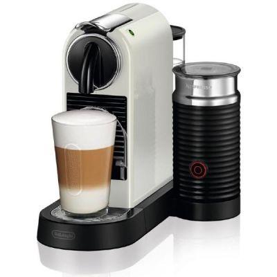 DeLonghi EN 267.WAE Citiz Milk Nespresso-System mit Milchaufschäumer weiß