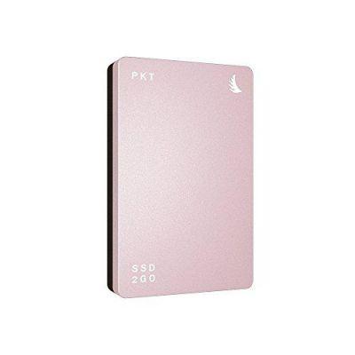 Angelbird  SSD2go PKT 256GB externe SSD USB 3.1 2.5 Zoll SATA600 rose