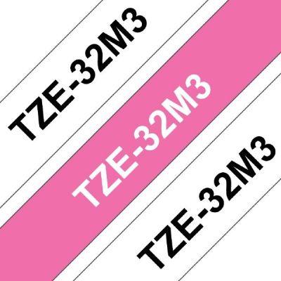 Brother TZe-32M3 Multipack 12mm breit TZe-231/TZe-MQP35 - Preisvergleich