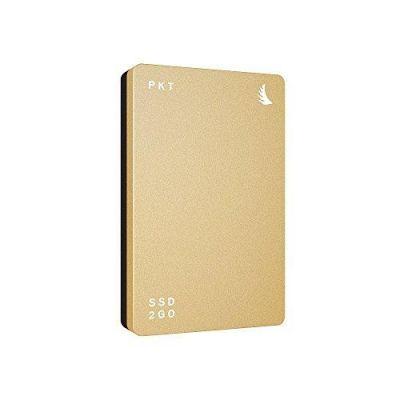 Angelbird  SSD2go PKT 256GB externe SSD USB 3.1 2.5 Zoll SATA600 gold