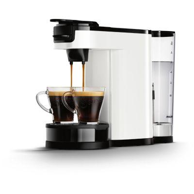 Senseo Philips HD7892/00  Switch 2-in-1 Kaffeemaschine für Filter und Pads, weiß