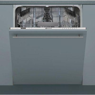 Bauknecht  BIC 3C26 Geschirrspüler vollintegrierbar 60cm A++ Silber