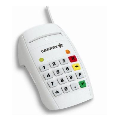 Cherry CHERRY eHealth Terminal ST-2052 - SMART-Kartenleser - USB - weiß