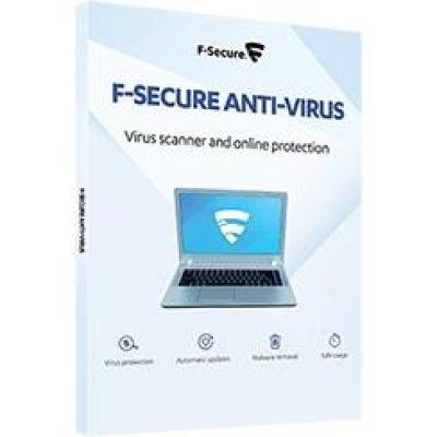 F Secure F-Secure Anti-Virus 2016 2 Jahre / 5 Geräte  ESD