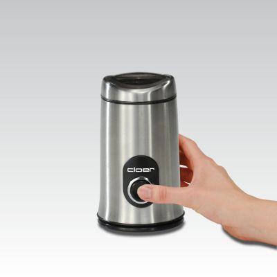 Cloer 7579 Elektrische Kaffeemühle Edelstahl