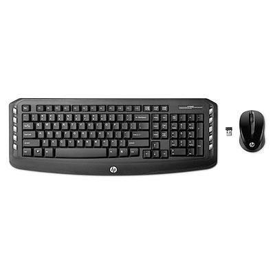 HP  Kabelloser Desktop (2,4GHz-Tastatur + Maus) (LV290AA)