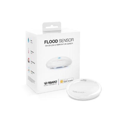 Fibaro  Flood Sensor Flutsensor/Wassermelder Bluetooth LE für Apple HomeKit