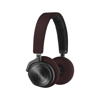 Bang Olufsen .B&O PLAY BeoPlay H8 On-Ear Bluetooth-Kopfhörer -Noise-Cancellation Deep Red