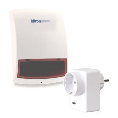bitronvideo Sicherheitspaket Sirene und Smart Plug Zigbee - Preisvergleich