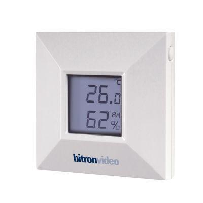 Bitronhome bitronvideo Temperatur- und Luftfeuchtigkeitssensor mit Display Zigbee