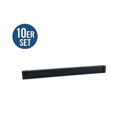 HP Enterprise  BW928A 10er Set Universal Filler Panel - Rack Füllplatten 1U