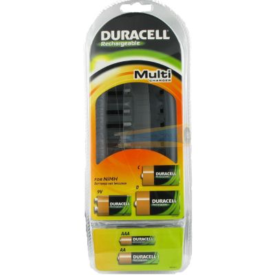 DURACELL CEF22 Multi-Ladegerät für AA, AAA, C, D, 9V - Preisvergleich