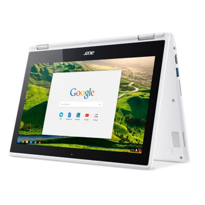 Acer Chromebook R 11 CB5-132T-C4LB weiss Quad Core N3160 eMMC Touch HD ChromeOS
