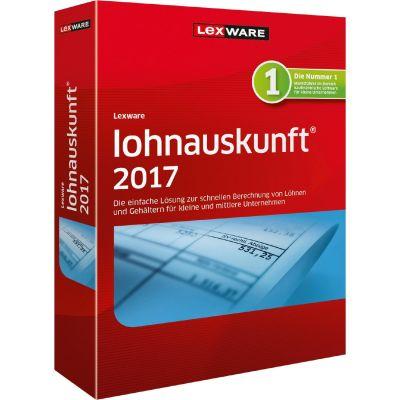 Lexware lohnauskunft 2017, Jahresversion 365 Tage, Minibox