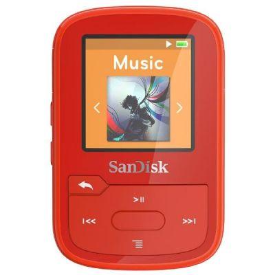SanDisk Clip Sport Plus MP3 Player 16GB rot - Preisvergleich