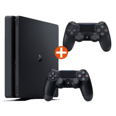 Sony PlayStation 4 Slim 500GB Konsole + 2 Duals...