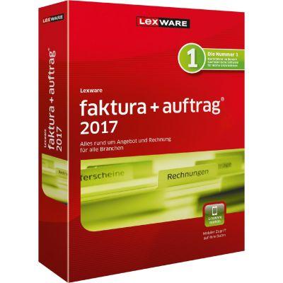 Lexware faktura+auftrag 2017 Jahresversion 365-Tage, Minibox