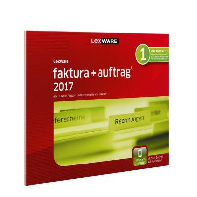 Lexware faktura+auftrag 2017 Jahresversion 365-Tage, FFP