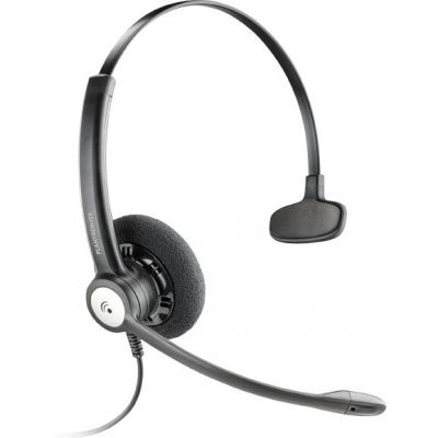 Plantronics Entera HW111N/A Monaurales Noise Cancelling Headset Kopfbügelmodell - Preisvergleich