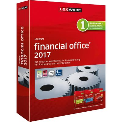 Lexware financial office 2017 Jahresversion (365-Tage), Minibox