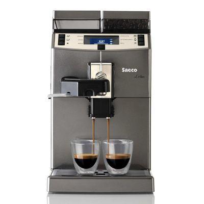 Saeco 10004768 Lirika One Touch Cappuccino Kaffeevollautomat Titan