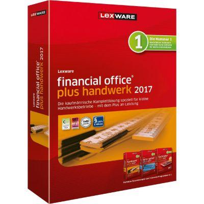 Lexware financial office plus handwerk 2017 Jahresversion 365 Tage, Minibox