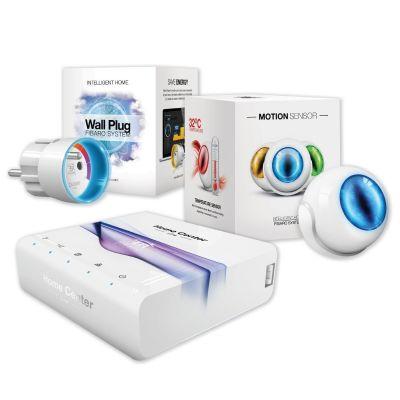 Fibaro  HCL - Home Center Lite + Motion Sensor + Wall Plug Z-Wave Gen5