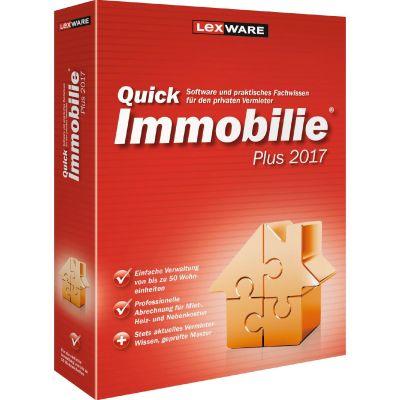 Lexware Quickimmobilie Plus 2017 (365 Tage Version) Minibox