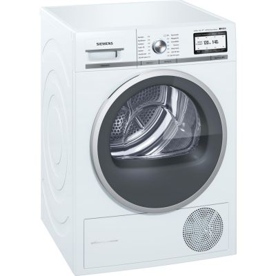 Siemens  WT48Y7W4 iQ800 Wärmepumpentrockner A+++ -10% iSensoric 9kg Weiß