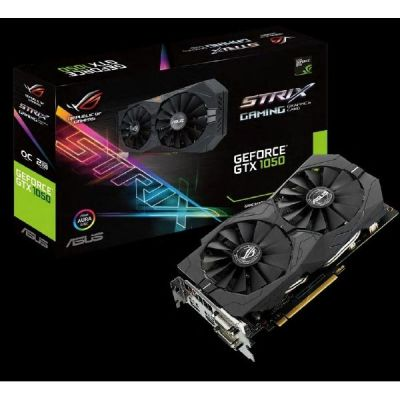 Asus GeForce GTX 1050 Strix OC ROG 2GB GDDR5 2xDVI/HDMI/DP Grafikkarte - Preisvergleich