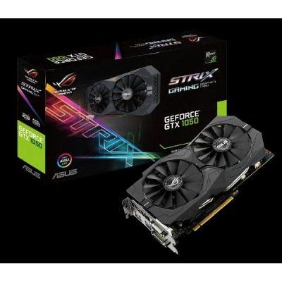 Asus GeForce GTX 1050 Strix ROG 2GB GDDR5 2xDVI/HDMI/DP Grafikkarte - Preisvergleich