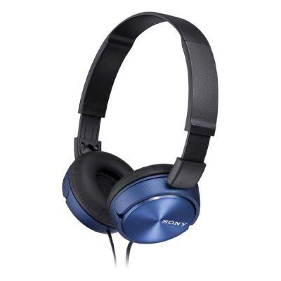 Sony MDR-ZX310APL On Ear Kopfhörer mit Headsetfunktion - Blau
