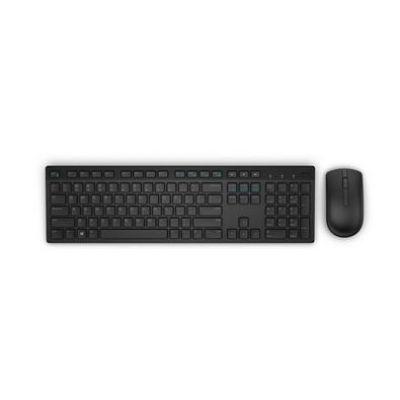 Dell  Wireless Tastatur und Maus KM636 black/QWERTY US