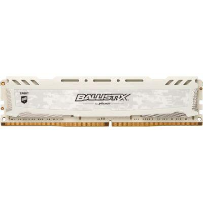 Ballistix 16GB  Sport LT Weiss DDR4-2666 CL16 (16-18-18) RAM