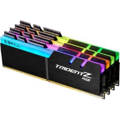 G Skill 32GB (4x8GB) G.Skill Trident Z RGB DDR4-3000 CL14 (14-14-14-34) DIMM RAM Kit