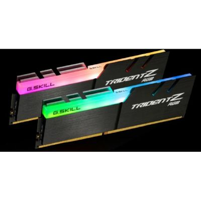 G Skill 16GB (2x8GB) G.Skill Trident Z RGB DDR4-3000 CL14 (14-14-14-34) DIMM RAM Kit