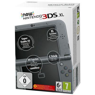 Nintendo New 3DS XL Konsole schwarz - Preisvergleich