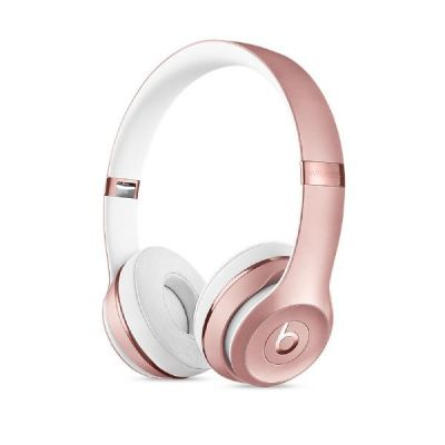 beats by dr dre Beats Solo3 Wireless On-Ear Headphones (MNET2ZM/A) rose gold