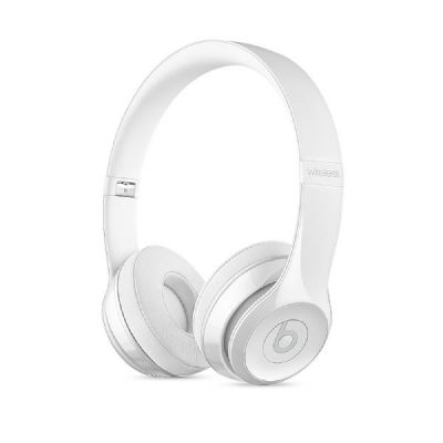 beats by dr dre Beats Solo3 Wireless On-Ear Headphones (MNEP2ZM/A) gloss white